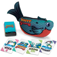 Happy Salmon: Blue Fish Thumb Nail
