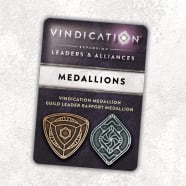 Vindication: Metal Medallions Thumb Nail