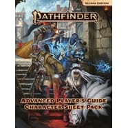 Pathfinder 2nd Edition: Advanced Player's Guide Character Sheet Pack Thumb Nail