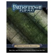 Pathfinder 2nd Edition: Flip-Mat - Bigger Flooded Dungeon Thumb Nail