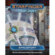 Starfinder Flip-Mat: Spaceport Thumb Nail