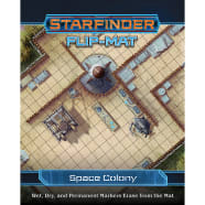 Starfinder Flip-Mat: Space Colony Thumb Nail