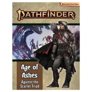 Pathfinder 2nd Edition Adventure Path 149: Age of Ashes Chapter 5: Against the Scarlet Triad Thumb Nail