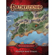 Pathfinder Campaign Setting: Hell's Vengeance Poster Map Folio Thumb Nail