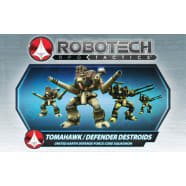 Robotech RPG Tactics: UEDF Tomahawk/Defender Destroids Pack Thumb Nail