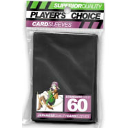 Player's Choice Sleeves - Black - Standard Sized (60) Thumb Nail