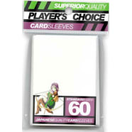 Player's Choice Sleeves - White - Standard Sized (60) Thumb Nail
