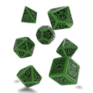 Poly 7 Dice Set: Call of Cthulhu 7th Edition RPG - Outer Gods: Cthulhu Thumb Nail
