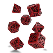 Poly 7 Dice Set: Call of Cthulhu 7th Edition RPG - Outer Gods: Nyarlathotep Thumb Nail