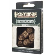 Poly 7 Dice Set: Pathfinder: Giantslayer Thumb Nail