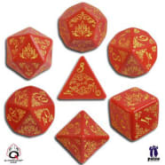 Poly 7 Dice Set: Pathfinder: Curse of the Crimson Throne Thumb Nail