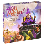 Kill Merlin! - a board game for 2-4 (awful) wizards Thumb Nail