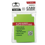 Ultimate Guard - Standard Size Card Dividers Light Green Thumb Nail
