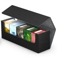 Ultimate Guard - Deck Box - Arkhive XenoSkin Standard 400+ Black Thumb Nail