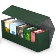 Ultimate Guard - Deck Box - Arkhive XenoSkin Standard 400+ Green Thumb Nail