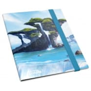 Ultimate Guard - 9-Pocket FlexXfolio - XenoSkin Lands Edition - Island Thumb Nail