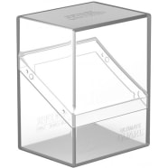 Ultimate Guard - Deck Case Standard 60+ Boulder - Clear Thumb Nail
