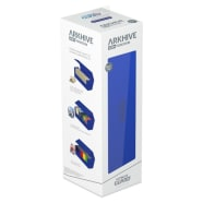 Arkhive Standard Size 400+ Monocolor Deck Box: Blue Thumb Nail