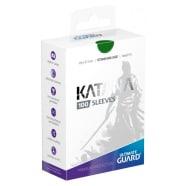 Ultimate Guard Sleeves - 100 count - Standard Sized - Katana - Green Thumb Nail