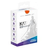 Ultimate Guard Sleeves - 100 count - Standard Sized - Katana - Orange Thumb Nail