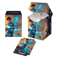 PRO 100+ Deck Box - Magic - Zendikar Rising - Jace, Mirror Mage Thumb Nail