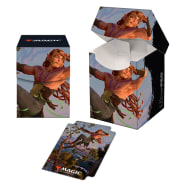 PRO 100+ Deck Box - Magic - Kaldheim - Planeswalker V2 Thumb Nail