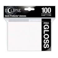 Ultra Pro Sleeves - 100 count - Standard Sized - Gloss Eclipse Arctic White Thumb Nail