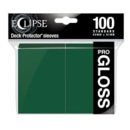 Ultra Pro Sleeves - 100 count - Standard Sized - Gloss Eclipse Forest Green Thumb Nail