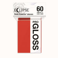 Ultra Pro Sleeves - Small - Pro-Gloss Eclipse Apple Red Thumb Nail