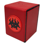 Alcove Flip Box - UltraPro - Magic - Guilds of Ravnica - Rakdos Thumb Nail
