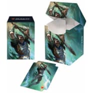 PRO 100+ Deck Box - Magic - War of the Spark - Gideon Blackblade Thumb Nail