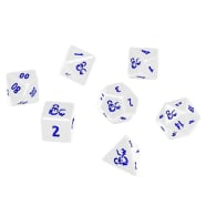 Poly 7 Heavy Metal Dice Set - Dungeons & Dragons - Icewind Dale: Rime of the Frostmaiden Thumb Nail