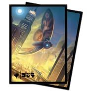 UltraPro Deck Protector - Magic - Ikoria Godzilla Alternate Art - Mothra, Supersonic Queen Thumb Nail