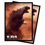 UltraPro Deck Protector - Magic - Ikoria Godzilla Alternate Art - Godzilla, Doom Inevitable Thumb Nail