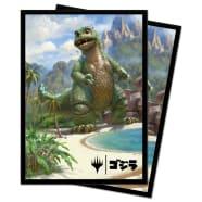 UltraPro Deck Protector - Magic - Ikoria Godzilla Alternate Art - Babygodzilla, Ruin Reborn Thumb Nail
