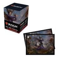 Innistrad Midnight Hunt Commander 100+ Deck Box and Sleeves (100) - Leinore, Autumn Sovereign Thumb Nail