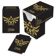 Deck Box - The Legend of Zelda - Full View - Black & Gold Thumb Nail