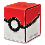 Deck Box - UltraPro - Pokemon - Alcove Flip Box - Poke Ball Thumb Nail