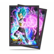 UltraPro Deck Protector - Dragon Ball Super - God Charge Vegeta (65) Thumb Nail