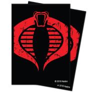UltraPro Deck Protector - G.I. Joe - Cobra Logo (100) Thumb Nail