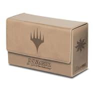 Deck Box - UltraPro - Magic - Dual Mana Flip Box - Matte White Thumb Nail