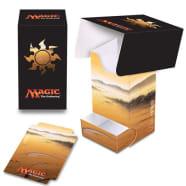 Deck Box - Magic - Full View - Mana Series 5 - Plains (w/Tray) Thumb Nail