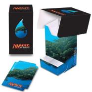 Deck Box - Magic - Full View - Mana Series 5 - Island (w/Tray) Thumb Nail
