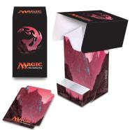 Deck Box - Magic - Full View - Mana Series 5 - Mountain (w/Tray) Thumb Nail