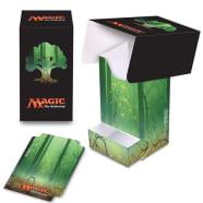 Deck Box - Magic - Full View - Mana Series 5 - Forest (w/Tray) Thumb Nail