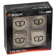 Magic - Deluxe Loyalty Dice Set - White Thumb Nail
