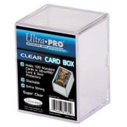 Deck Box - Plastic Card Box (Clear) Thumb Nail