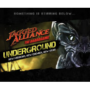 Jagged Alliance The Board Game: UNDERGROUND! Add-On Thumb Nail