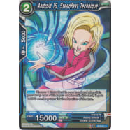 Android 18, Steadfast Technique Thumb Nail