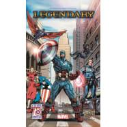 Legendary Marvel Deckbuilding Game: Captain America 75th Anniversary Expansion Thumb Nail